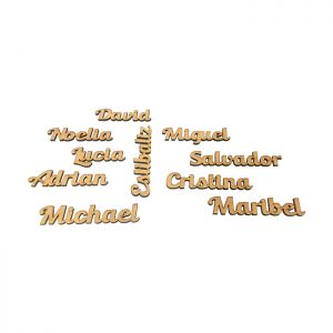 Nombres Madera
